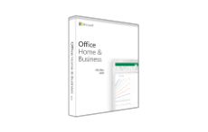 Microsoft Office Home and Business 2019 Hebrew Medialess במלאי
