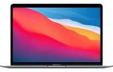Apple MacBook Air 13 M1 2020 GPU 8C MGN73HB/A Space Gray יבואן רשמי במלאי