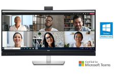 """Dell 34"""" Curved Video Conferencing Monitor USB-C C3422WE יבואן רשמי במלאי"""