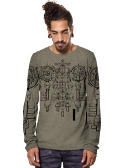 Alchemist Beige Mouline Long Sleeve