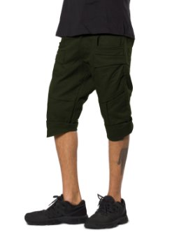 Hei urban street olive short pants for men