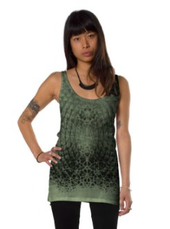 Women psychedelic tank top
