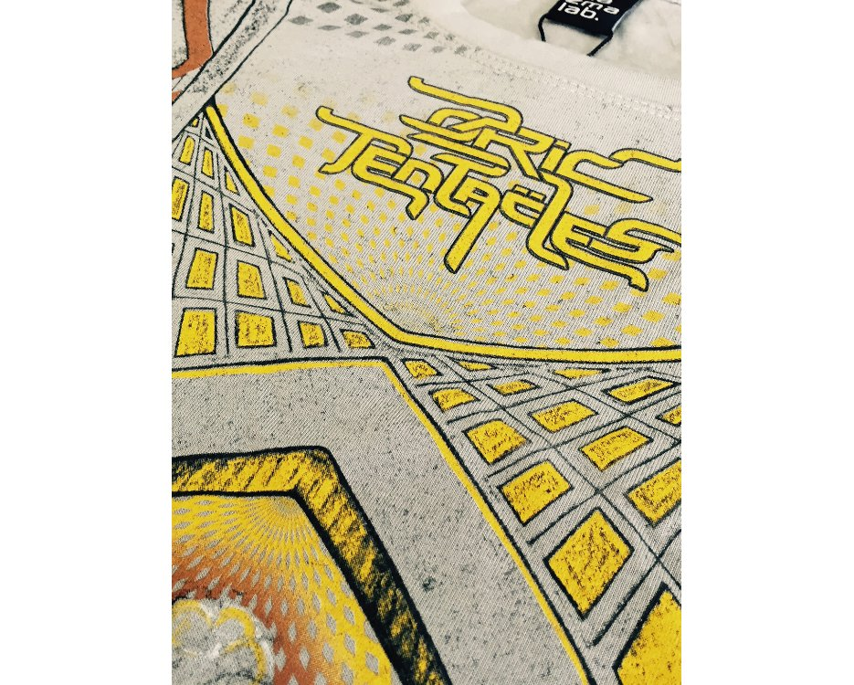 Ozric Tentacles Grey Colourful