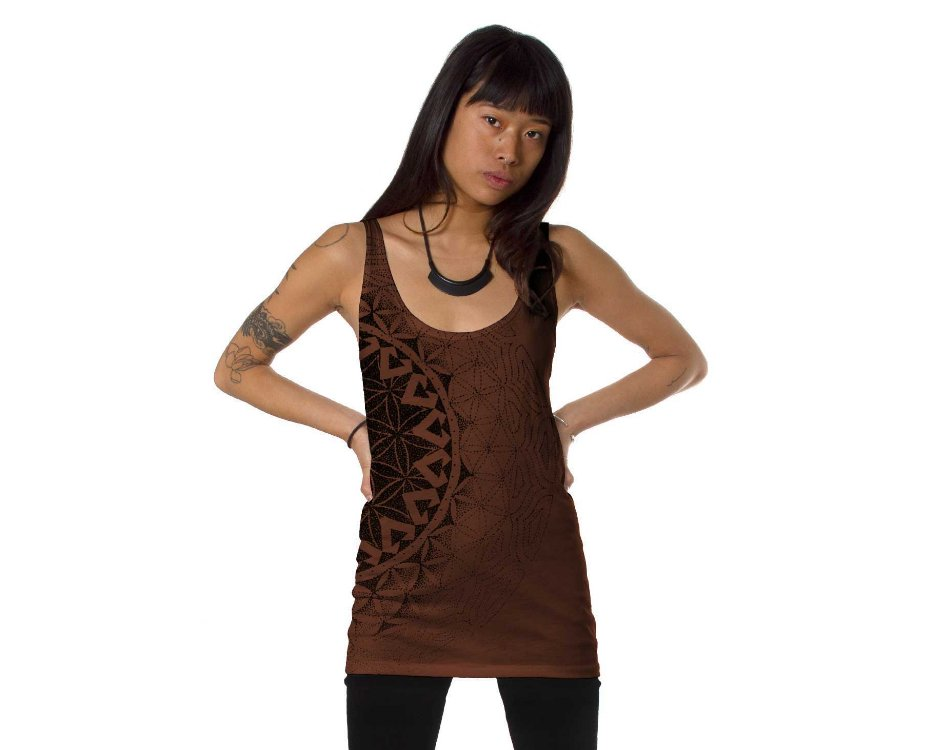 Prahna Indie Open Back Tank Top