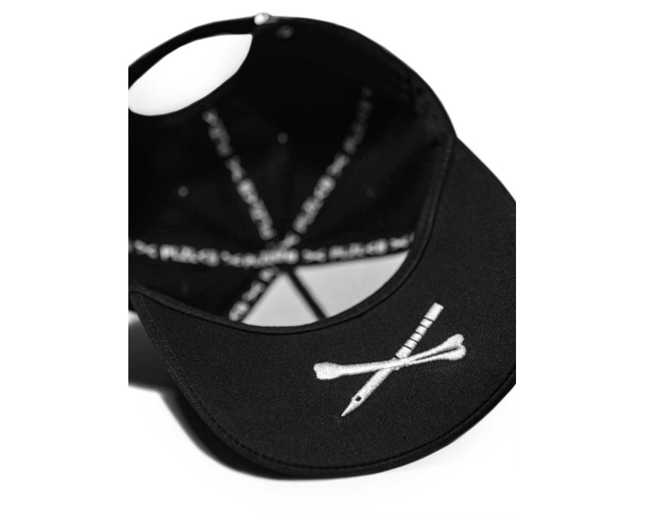 black hat with a fox design